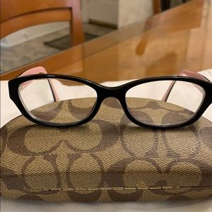 COACH FRAMES for reading glasses with case